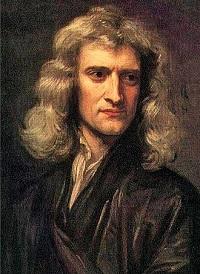 Isaac Newton by  Godfrey Kneller, 1689