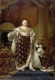 http://en.wikipedia.org/wiki/Louis_XVIII_of_France