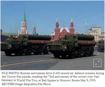 https://www.reuters.com/article/us-india-russia/india-risks-us-sanctions-with-5-billion-purchase-of-russian-missiles-idUSKCN1MD18K