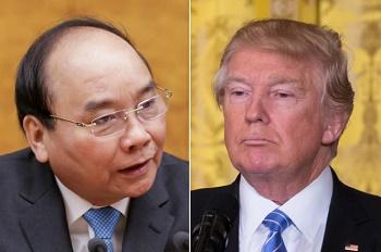 Nguyễn Xuân Phúc và Donald Trump