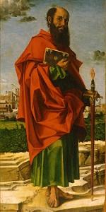 Saint Paul by Bartolomeo Montagna