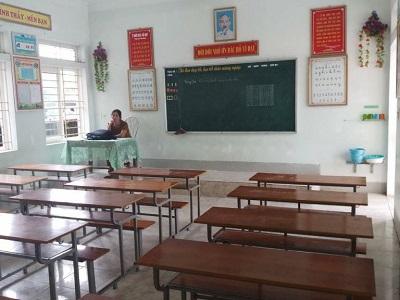 lớp 1 xã Quỳnh Yên, Nghệ An ngày 10 tháng 9, 2018