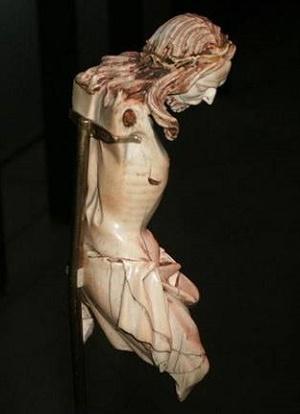 ivory crucifix