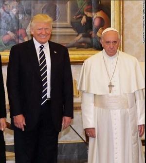 Francis và Trump 24May2017