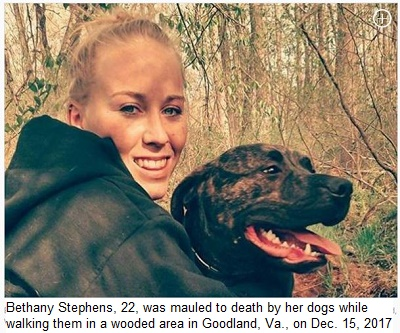 http://www.nydailynews.com/news/national/virginia-woman-killed-pitbulls-grisly-mauling-article-1.3703517