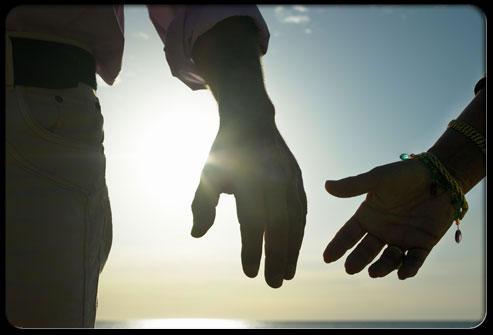 tay trong tay